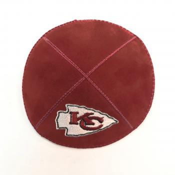 Kansas City Chiefs Kippah-Suede