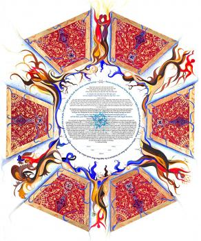 CUPOLA a window to the world Ketubah