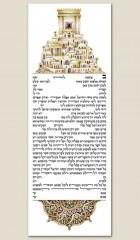 Ketubah Magen Yerushalayim by Zeesi