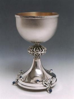 Kiddush Cup Sterling Silver 023