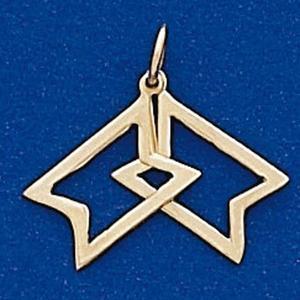 Star K-293 Charm - Gold