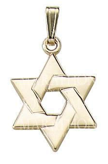 14KT Gold Star of David KP 900