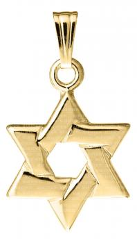 14KT Gold Star of David KP902