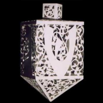 White Lace Dreidel