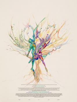 Let Us Dance For Life Ketubah