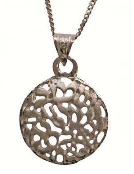 Circular Shema Necklace - Silver