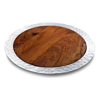 Sierra Round Tray w/Rosewood Insert