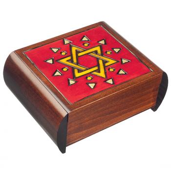 Star of David Secret Keepsake Box