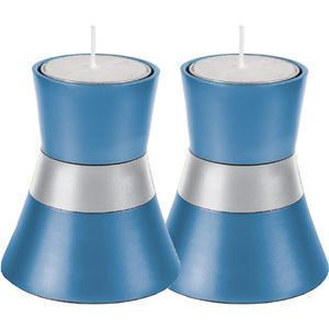 Small Color Block Candle Holders - Aluminum