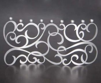 Swirl Menorah