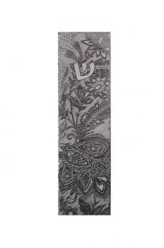 Botanical Stainless Steel Mezuzah by Metalace Art