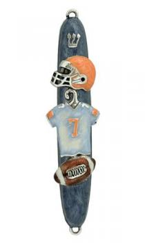 Football Mezuzah by Quest Collection