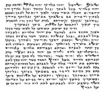 Kosher Scroll (Basic Klaf Mezuzah Parchment)