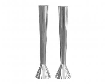 Tall Smooth Candlesticks