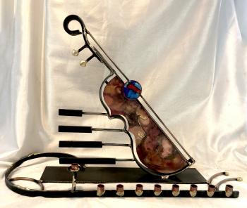 Musical Instrument Menorah