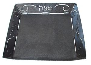 Blackthorne Forge Matzah Plate - Steel