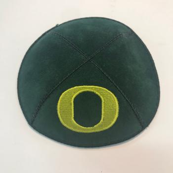 University of Oregon Kippah - Suede