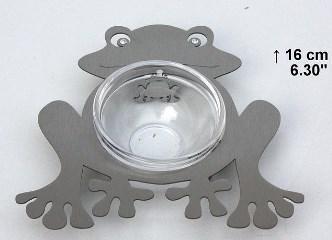 Frog Charoset Dish - Stainless Steel