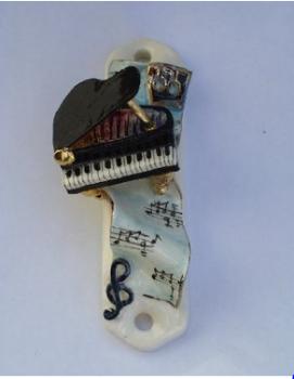 Piano Mezuzah