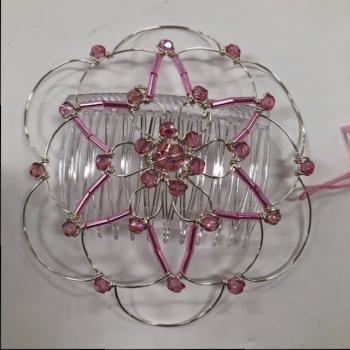Pink Silver Star Wire Kepa