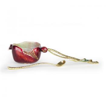 Pomegranate Honey Set - Enamel