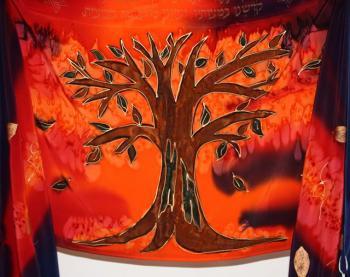 The Tree of Life Tallit Set - PST-49
