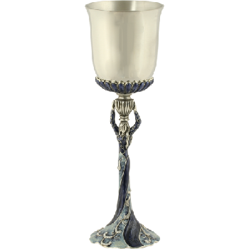 Miriam Cup Blue and Silver by Quest Collection