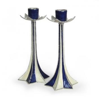 Quest Star of David Candle Holder Set