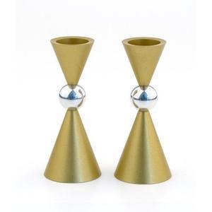 Mini Ball Candle Holders - Aluminum
