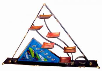 Pyramid Seder Plate