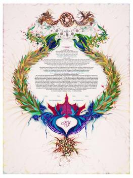 Royal Claddagh Ketubah