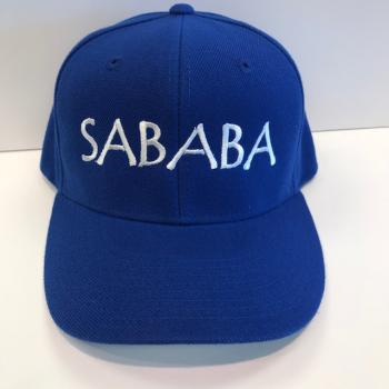 SABABA BASEBALL CAP IN ENGLISH LETTERS