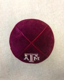Texas A&M Kippah - Suede