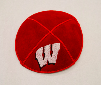 University of Wisconsin Kippah - Suede