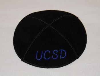 UCSD Kippah - Suede