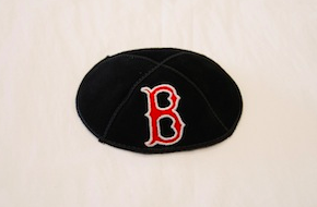 Boston Red Sox Kippah - Suede