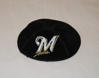 Milwaukee Brewers 2 Kippah - Suede