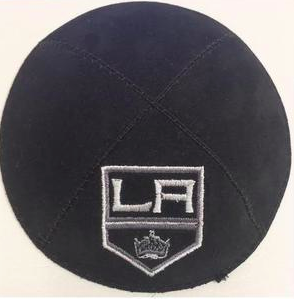 LA Kings Kippah - Suede