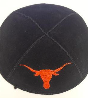 University of Texas at Austin Kippah - Suede