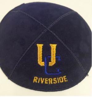 UC Riverside Kippah - Suede