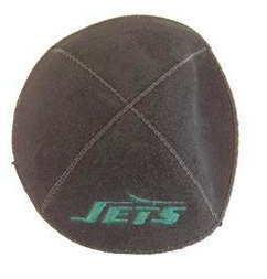 New York Jets Kippah - Suede