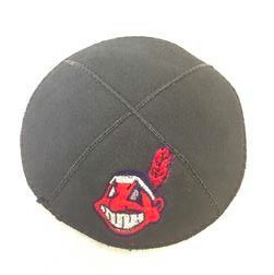 Cleveland Indians Kippah - Suede