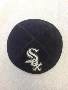 Chicago White Sox Kippah - Suede