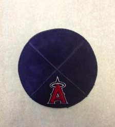 Angels Kippah - Suede