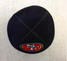 San Francisco 49ers Kippah - Suede