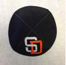 San Diego Padres Kippah - Suede