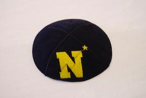 US Navy Kippah - Suede