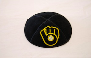Milwaukee Brewers Kippah - Suede