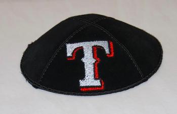 Texas Rangers Kippah - Suede