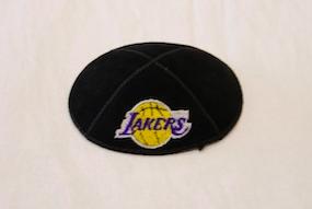 Lakers Kippah - Suede